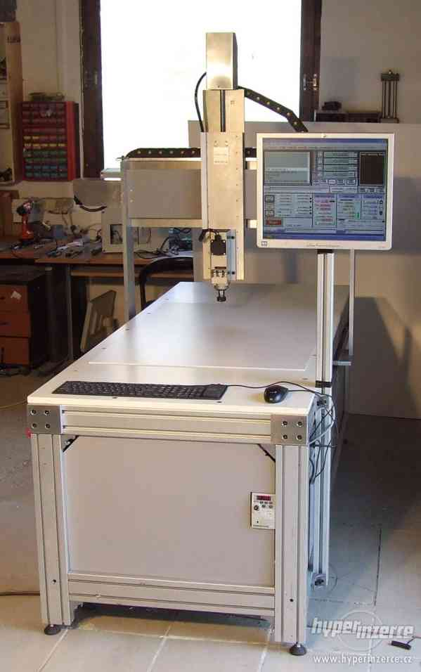 Profesionálna 3D - CNC fréza F1100 - gul. skr - foto 3