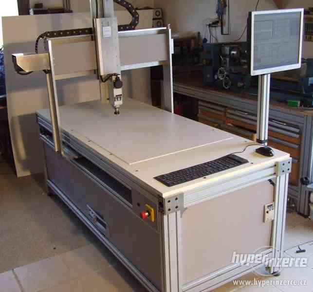 Profesionálna 3D - CNC fréza F1100 - gul. skr - foto 4
