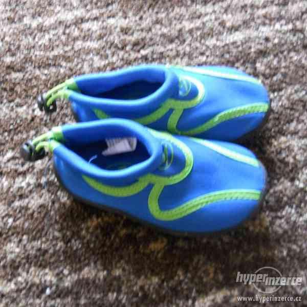 Boty do vody modré