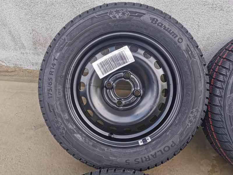 175/65R14 zimní sada Škoda Citigo 5x14 4x100 ET35 nová sada - foto 4