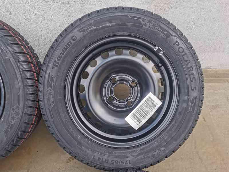 175/65R14 zimní sada Škoda Citigo 5x14 4x100 ET35 nová sada - foto 5