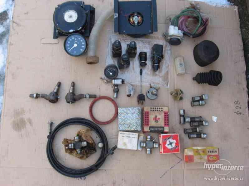 starter Bosch + díly Avia 31 + díly VZV - foto 3