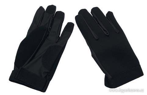 Neoprenové rukavice , černé, olivové - foto 2