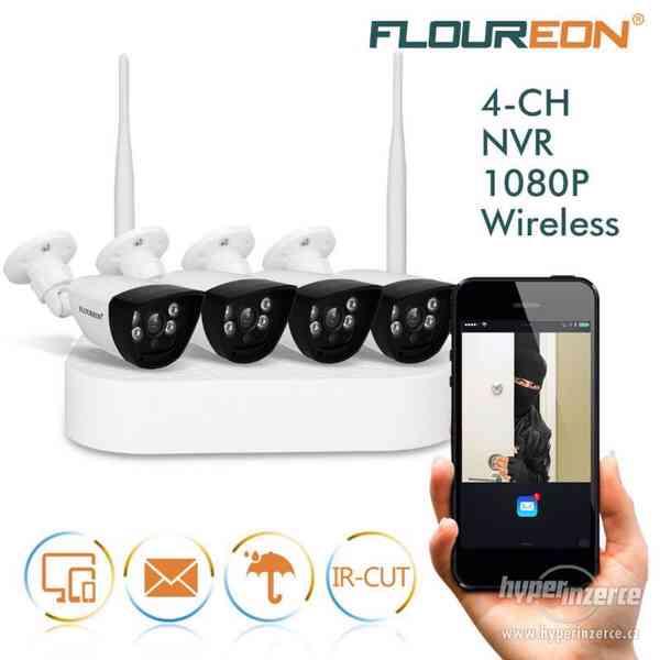 Wi-Fi bezdrátový kamerový systém se záznamem