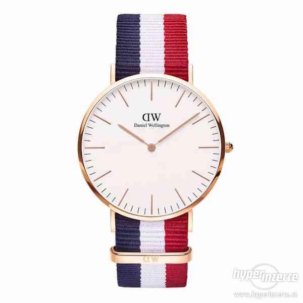 Nové hodinky Daniel Wellington 75% sleva!