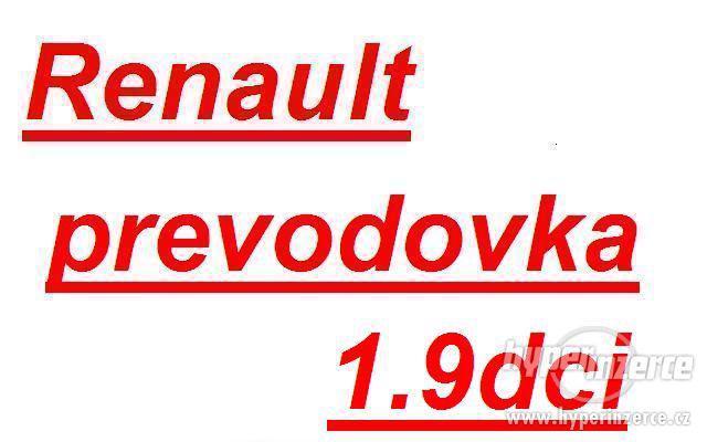 Renault prevodovka Trafic 1.9dci prevodovka trafic PK6 PK5 p - foto 1