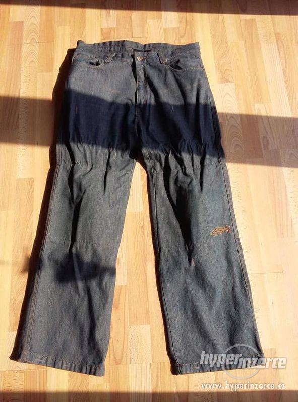 Nové pánské motorkářské kalhoty JEANSY