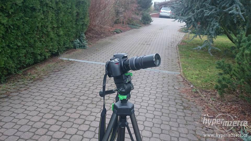 Teleobjektiv IFOCO f=200mm s pouzdrem - foto 1