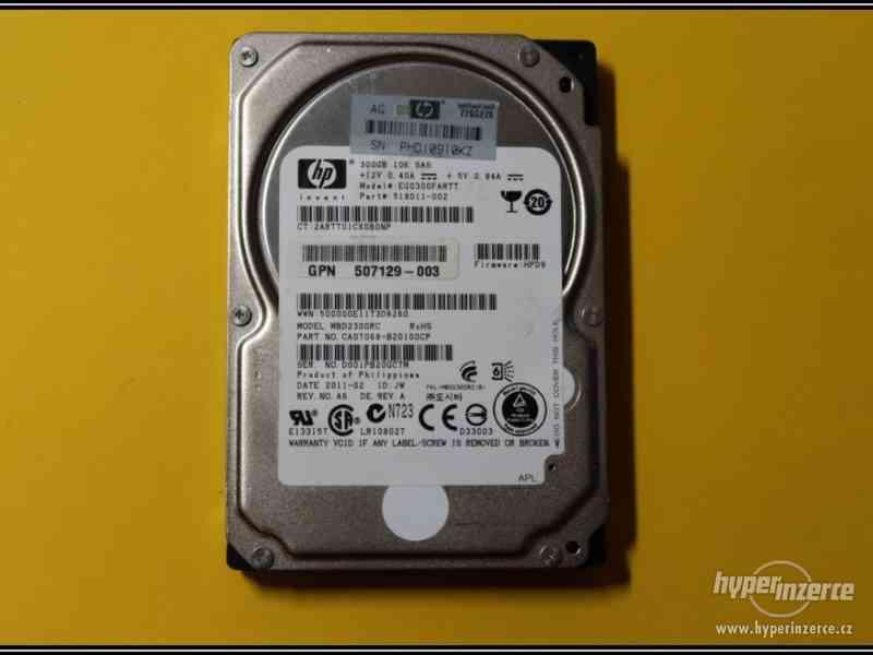 "Disk HP 300GB SAS 2,5"" 10K 6G HotPlug 518011-002"
