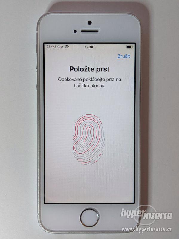 iPhone SE 32GB stříbrný, baterie 91% záruka 6 měsícu - foto 5