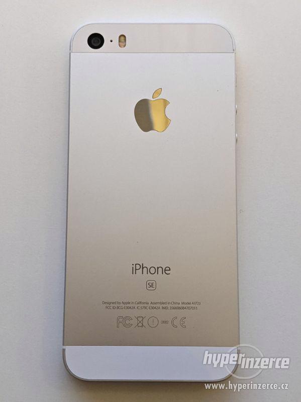 iPhone SE 32GB stříbrný, baterie 91% záruka 6 měsícu - foto 7