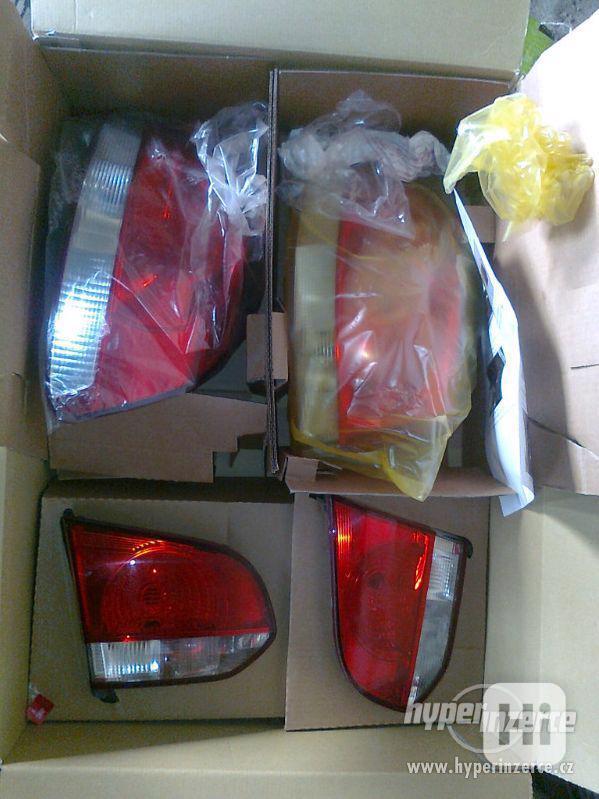 Zadní světla, lampy Volkswagen Golf 6, VW Golf VI. - foto 1