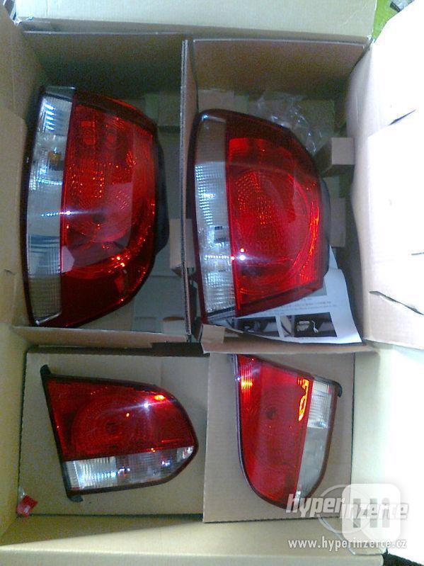 Zadní světla, lampy Volkswagen Golf 6, VW Golf VI. - foto 2