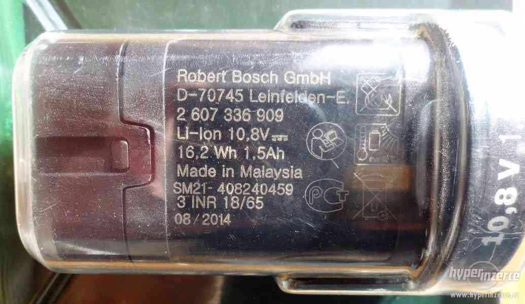 Li - ion Akumulátor BOSCH 10,8V - 1,5 Ah - foto 3