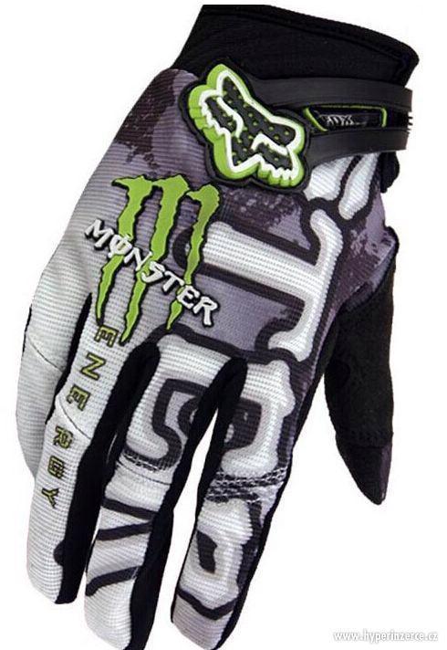 Prodám nové rukavice FOX Monster Ghost bílé nebo černé