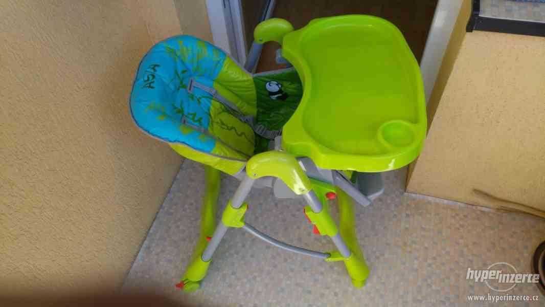 jídelní židlička - foto 3