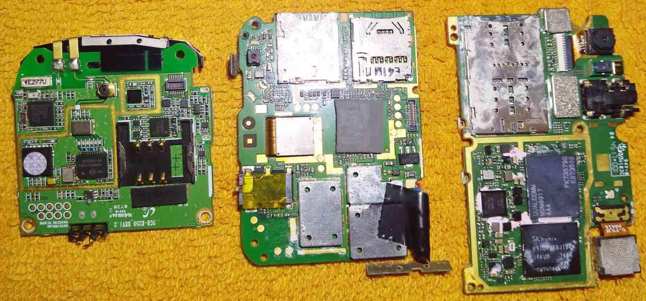 Funkční základ. desky k mobilům -odzkoušené!!! - foto 2