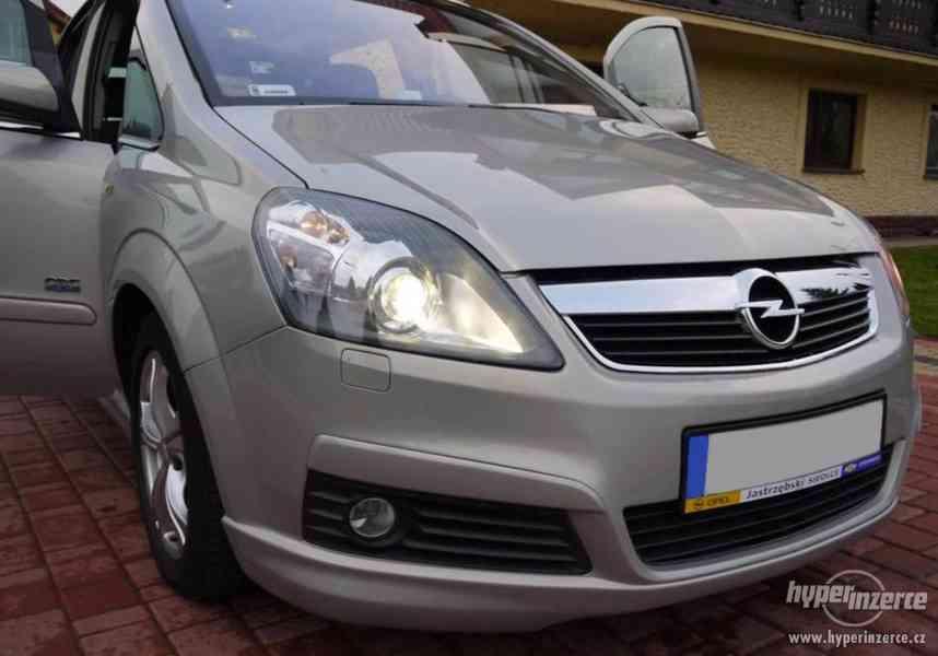 Opel Zafira B spoilery narazniky kridlo