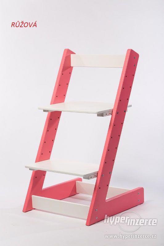 Rostoucí židle ALFA I - různá barevná kombinace - foto 1