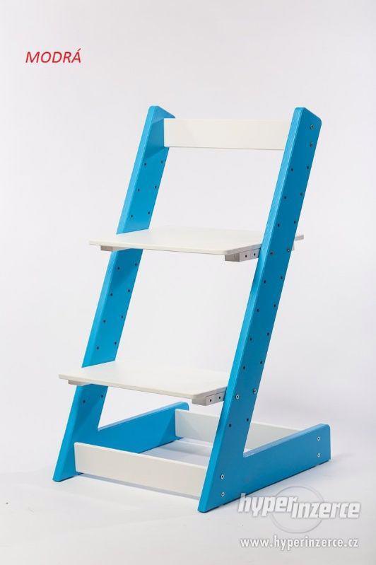 Rostoucí židle ALFA I - různá barevná kombinace - foto 2