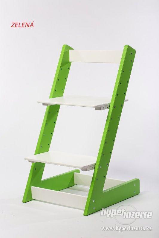 Rostoucí židle ALFA I - různá barevná kombinace - foto 3