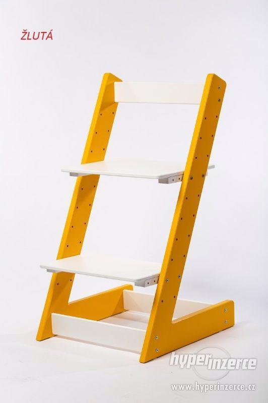 Rostoucí židle ALFA I - různá barevná kombinace - foto 4