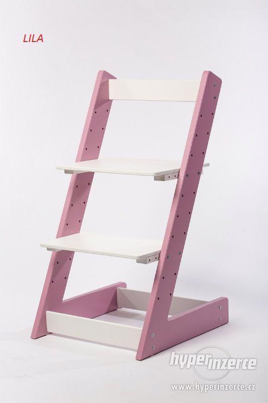 Rostoucí židle ALFA I - různá barevná kombinace - foto 7