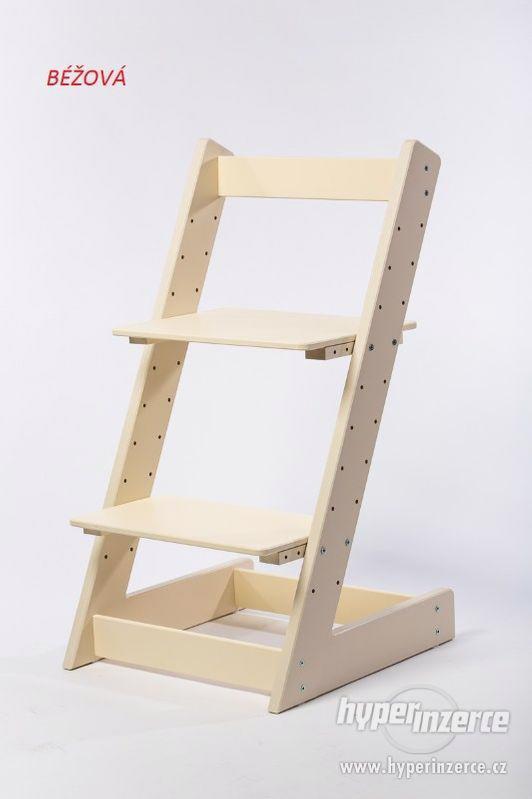Rostoucí židle ALFA I - různá barevná kombinace - foto 8