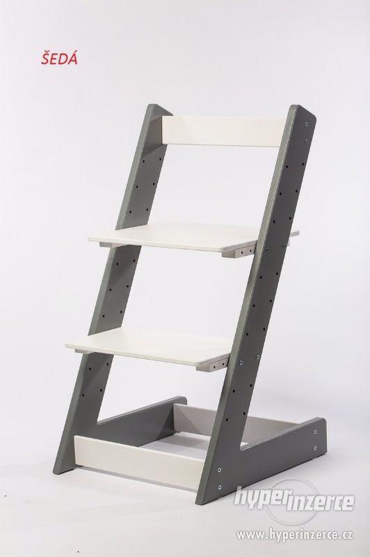 Rostoucí židle ALFA I - různá barevná kombinace - foto 10