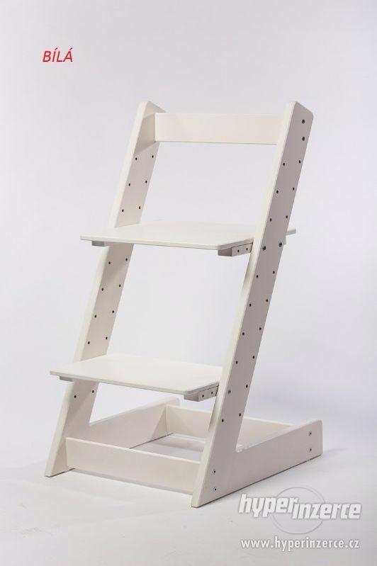 Rostoucí židle ALFA I - různá barevná kombinace - foto 11