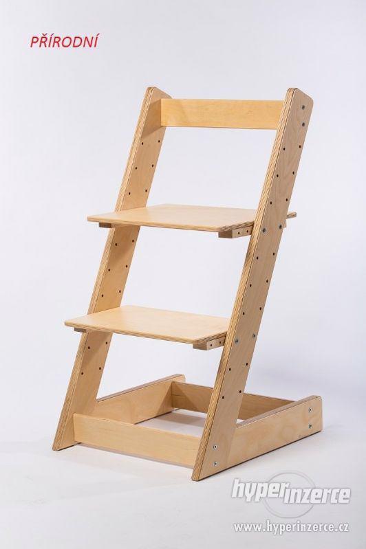 Rostoucí židle ALFA I - různá barevná kombinace - foto 12