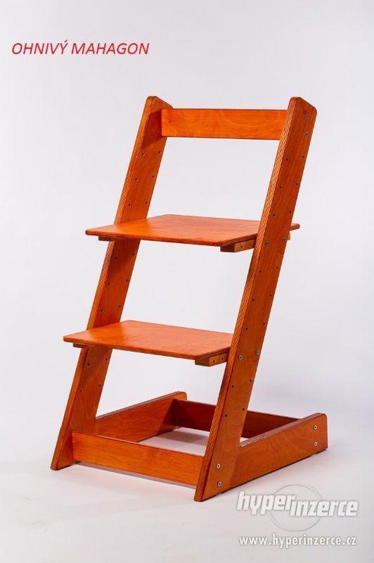 Rostoucí židle ALFA I - různá barevná kombinace - foto 13