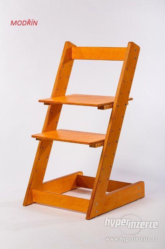 Rostoucí židle ALFA I - různá barevná kombinace - foto 14
