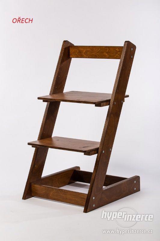 Rostoucí židle ALFA I - různá barevná kombinace - foto 16