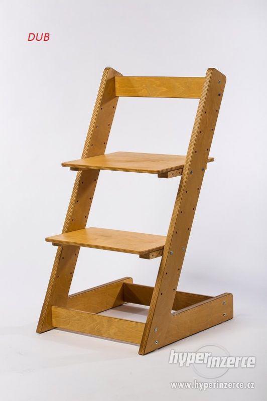 Rostoucí židle ALFA I - různá barevná kombinace - foto 17