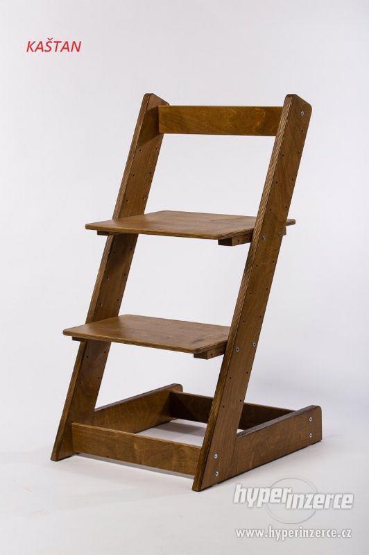 Rostoucí židle ALFA I - různá barevná kombinace - foto 18