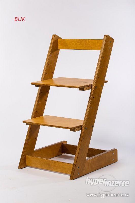 Rostoucí židle ALFA I - různá barevná kombinace - foto 19