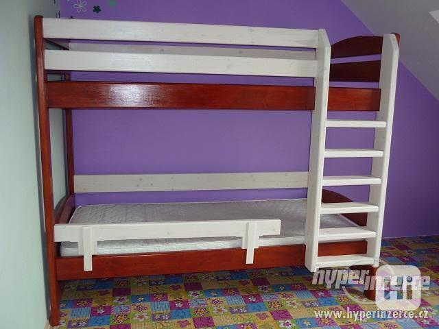 Patrová postel z masivu - foto 4