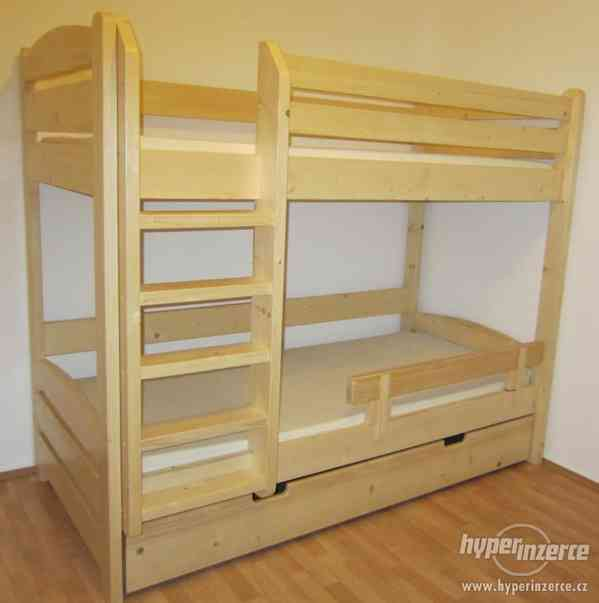 Patrová postel z masivu - foto 3
