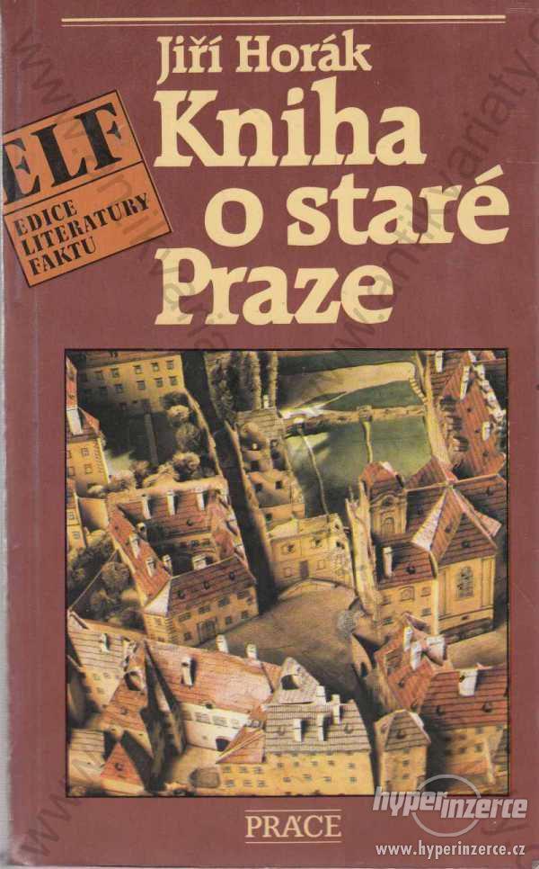 Kniha o staré Praze Jiří Horák