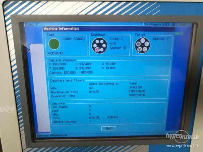 Vysekávací stroje Euromac MTX INDEX - foto 5