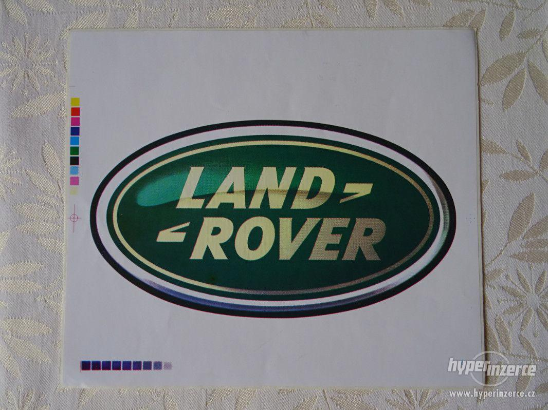 SAMOLEPKA LAND-ROVER - foto 1