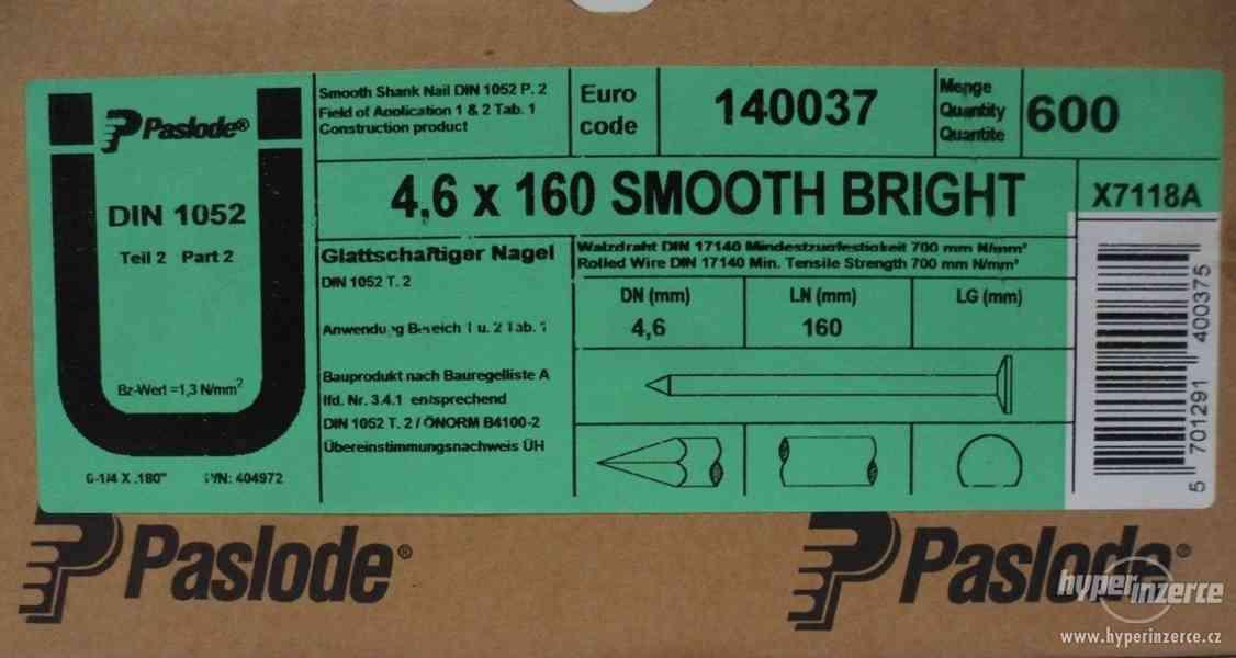 Pneumatický hřebíkovač Paslode 6625/160 SQ - foto 3