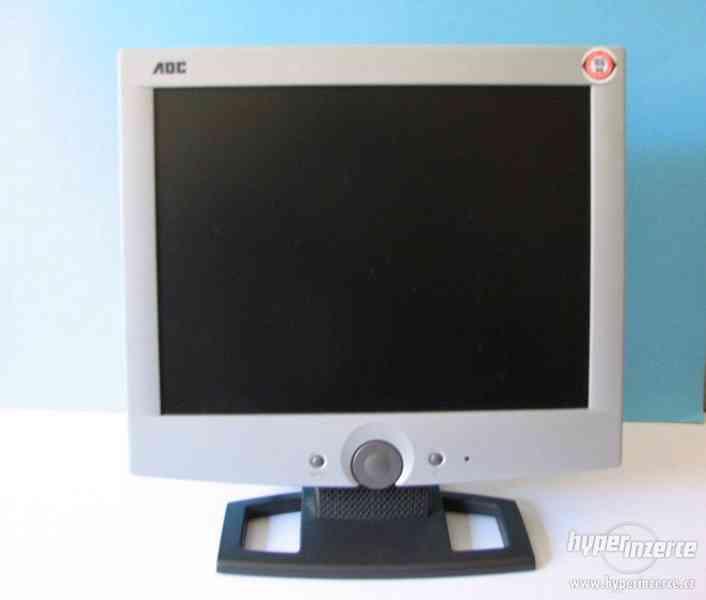 Prodám starší LCD monitor včetně kabelů a napáječe