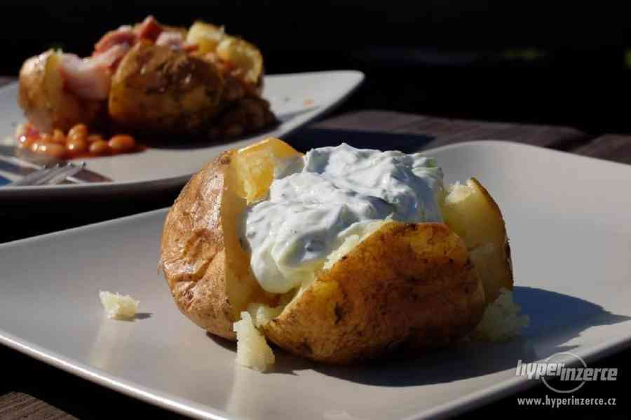 Originální pec na brambory jacket potatoes - foto 3