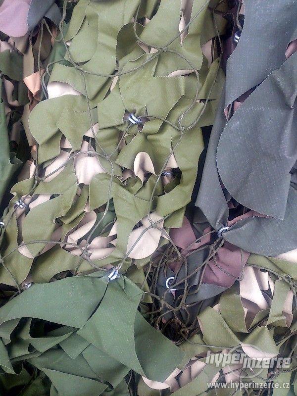 originální armádní US maskovací plastová síť