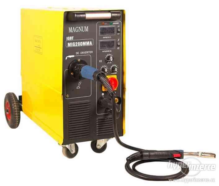 Svářečka Invertorový svářecí poloautomat MIG 280MMA IGBT
