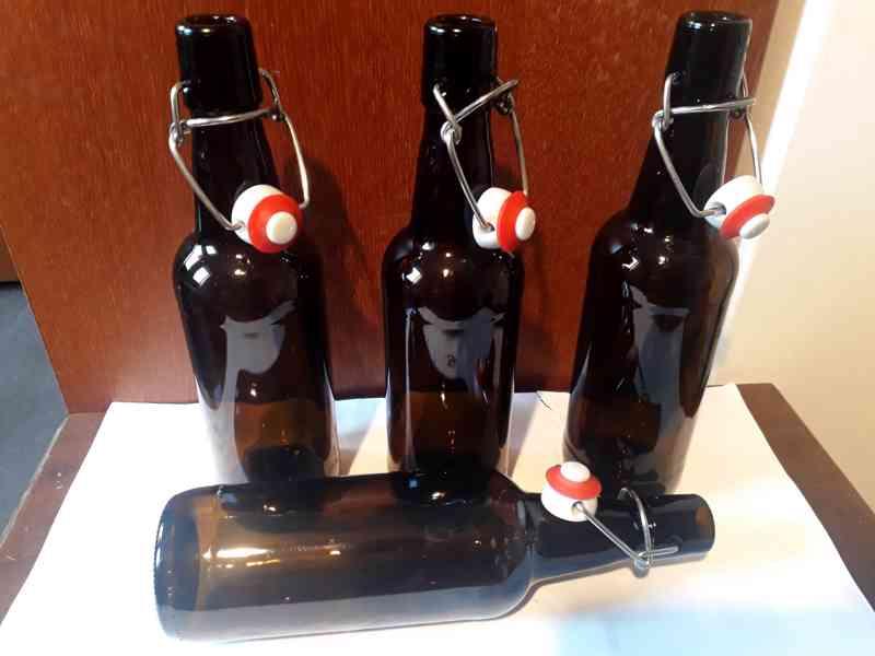 Pivní lahve patentní uzávěr 0,5 l Monopol Teplice