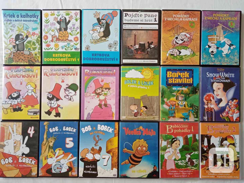 Nove foto 30.7. 150 original DVD- filmy a detske po 65 Kc - foto 1