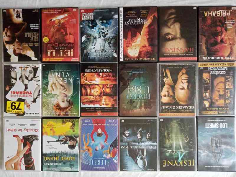 Nove foto 30.7. 150 original DVD- filmy a detske po 65 Kc - foto 8